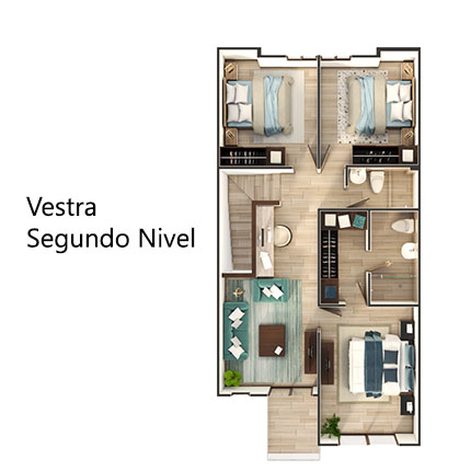 Vestra-Second-Level